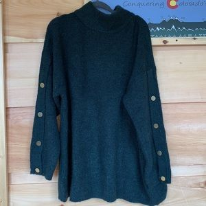 NWOT Ellos large 18/20 green sweater